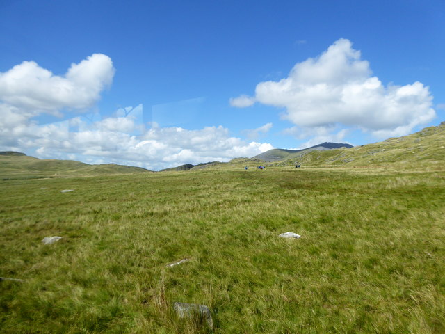Rough moorland on the lower slopes of Snowdon