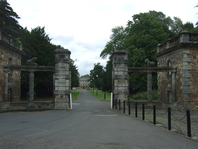 Gateway to Newbattle Abbey