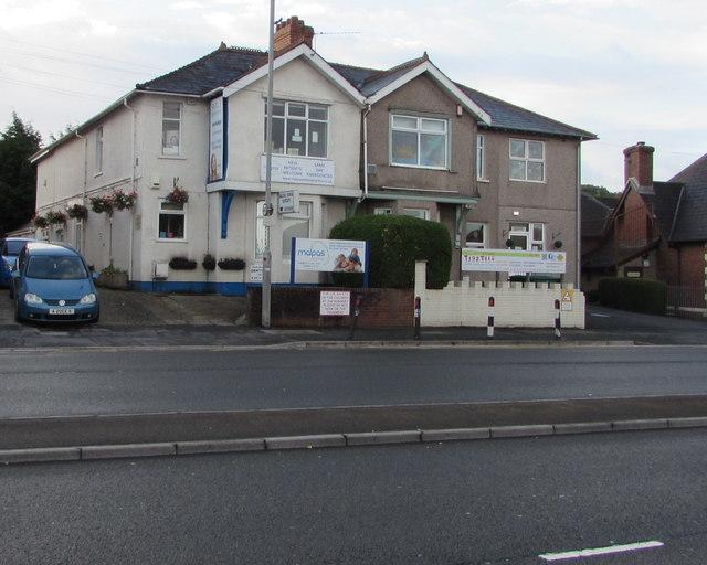 Malpas Road dentists and children's nursery, Malpas, Newport