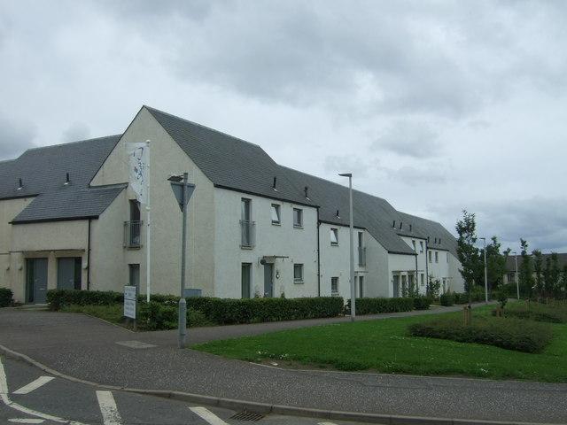 Houses off Suttieslea Road, Newtongrange