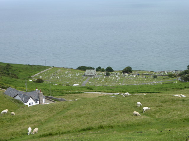 Cemetery on the northern slope of Great Orme's Head