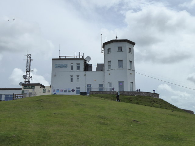 Summit building on Great Orme's Head