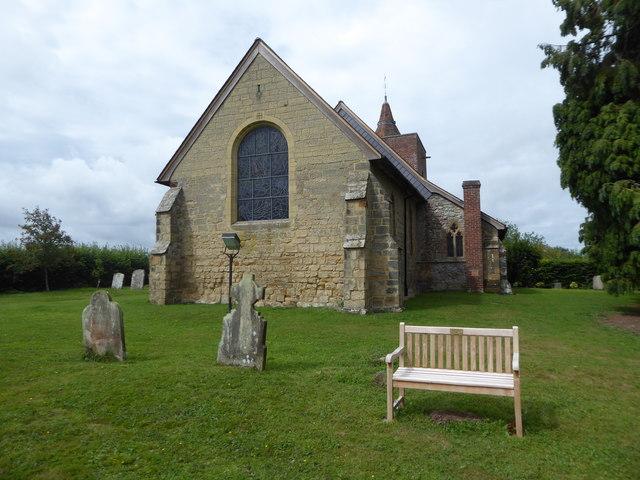 All Saints, Tudeley: churchyard (d)