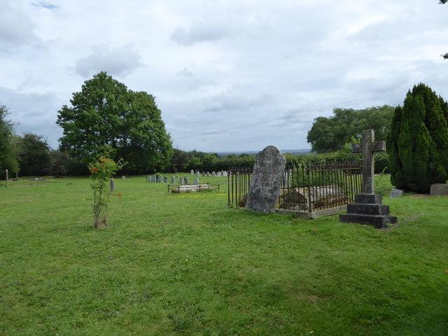 All Saints, Tudeley: churchyard (e)