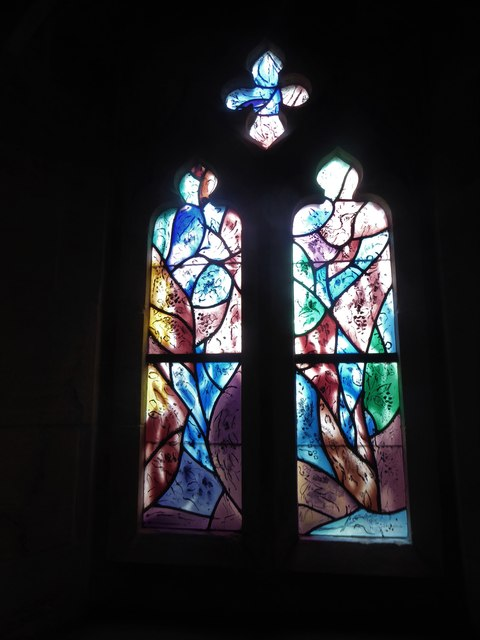 All Saints, Tudeley: Chagall Window (f)