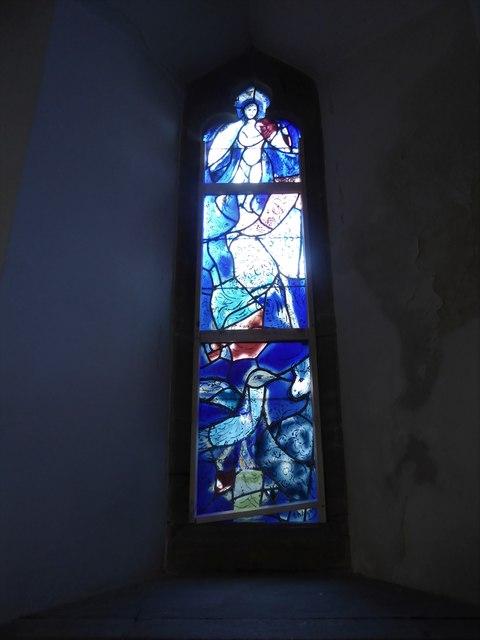 All Saints, Tudeley: Chagall Window (g)