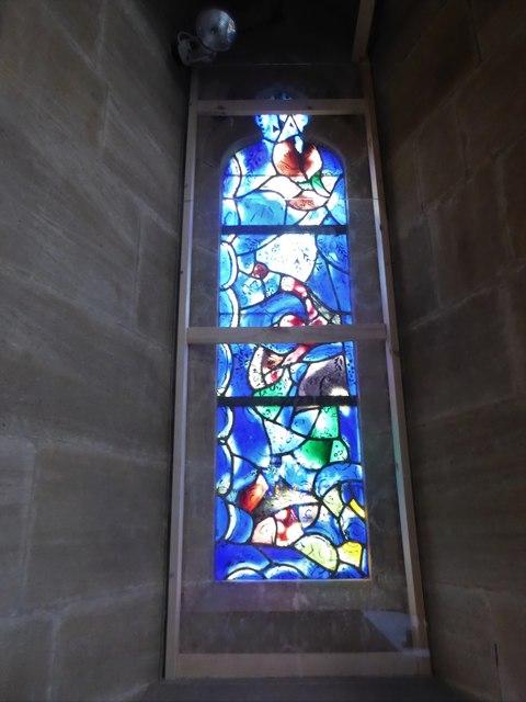 All Saints, Tudeley: Chagall Window (h)