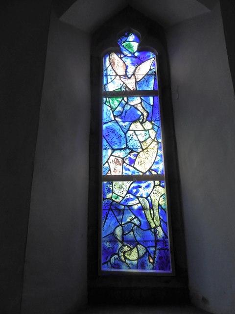 All Saints, Tudeley: Chagall Window (k)