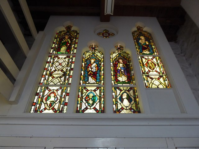 Inside All Saints, Tudeley (d)