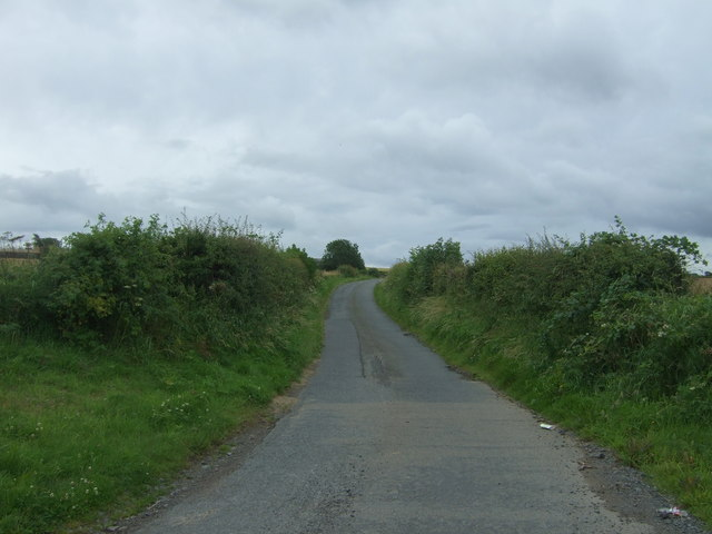 Minor road towards Whitehill