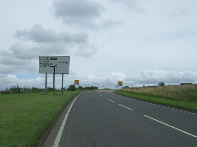 A6016 approaching junction