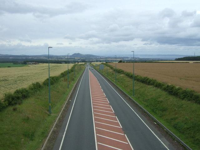 A68 towards Edinburgh
