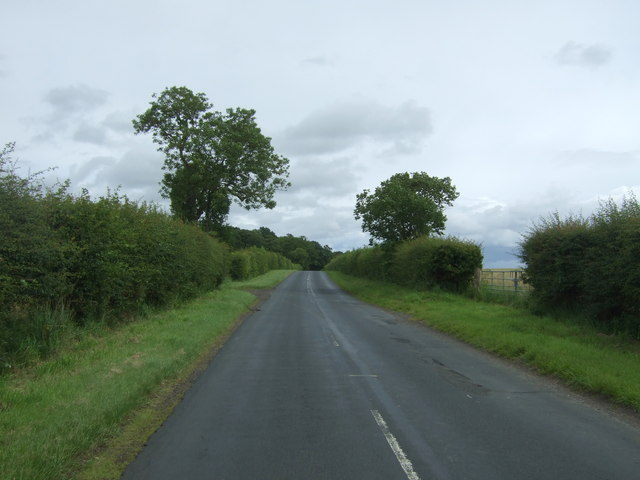 Heading north east from Templehall