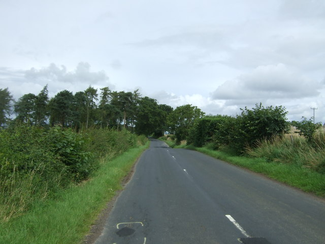 Heading north east from West Saltoun