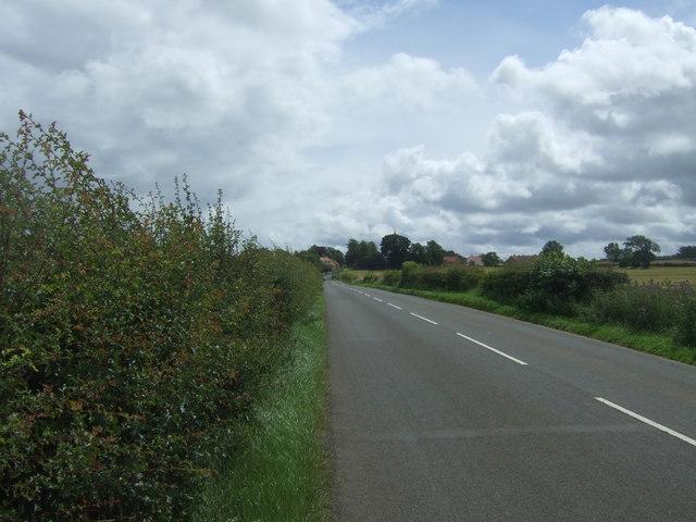 B6355 towards East Saltoun