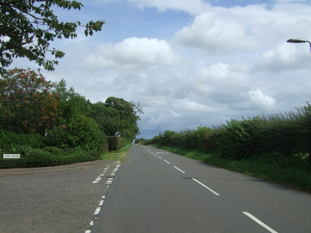 Heading north east from East Saltoun