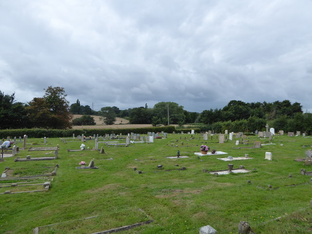 St Thomas à Becket, Capel: churchyard (b)