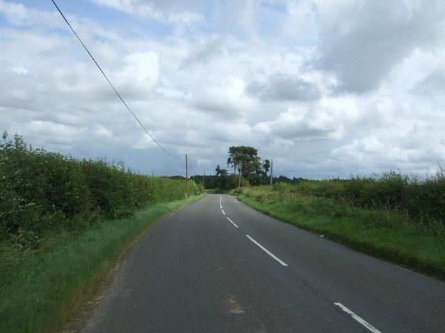 B6355 towards Gifford
