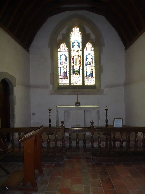 Inside St Thomas à Becket, Capel (g)