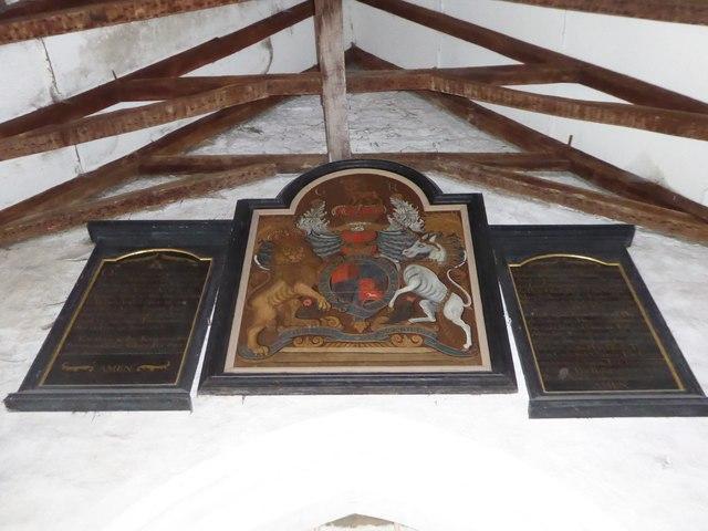 Inside St Thomas à Becket, Capel (h)