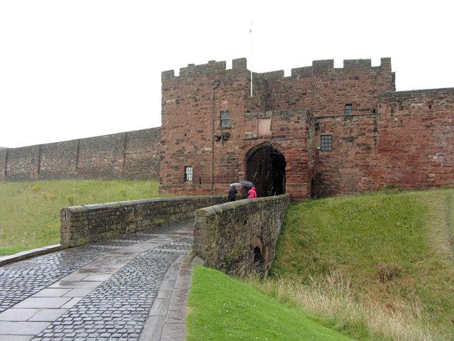 Entrance to Carlisle Castle