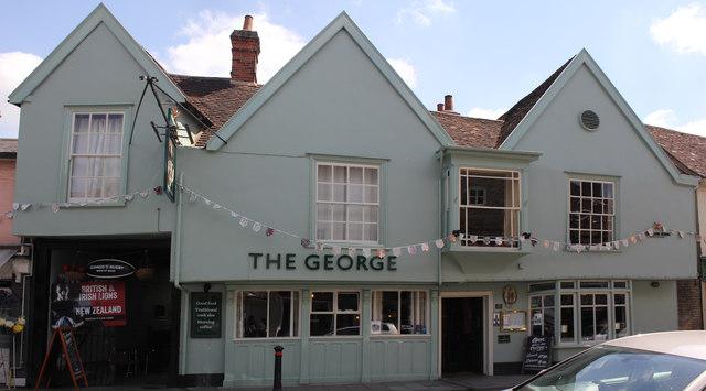 The George, 52 High Street, Hadleigh