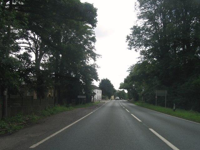 Entrance to Tydd Gote