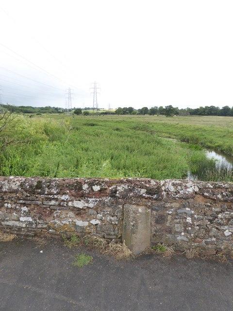 Heavitree boundary marker on Clyst St Mary bridge