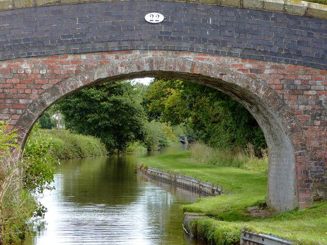 Thomason's Bridge west of Wrenbury, Cheshire
