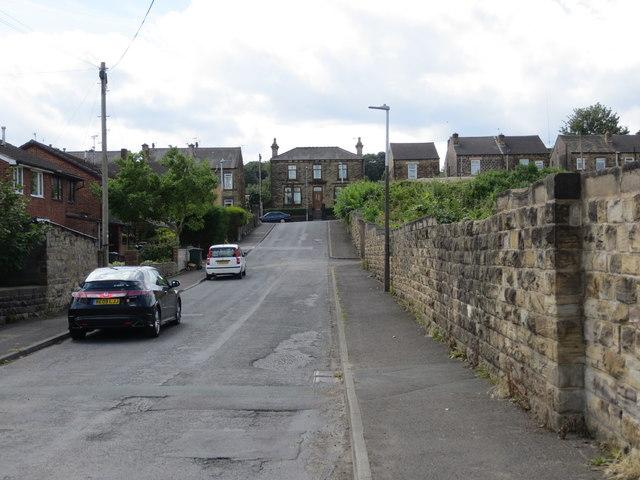 Bridge Street at Birstall Smithies