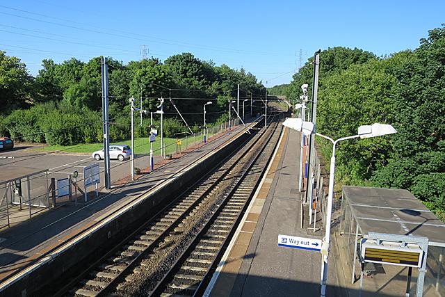 Curriehill Station