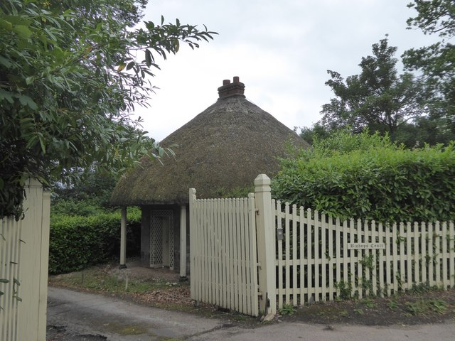 Thatched lodge for Bishop's Court