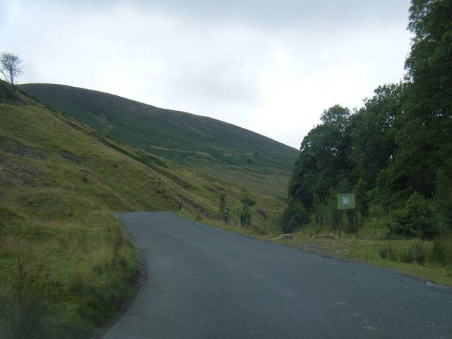 Trough of Bowland near Cragg Wood