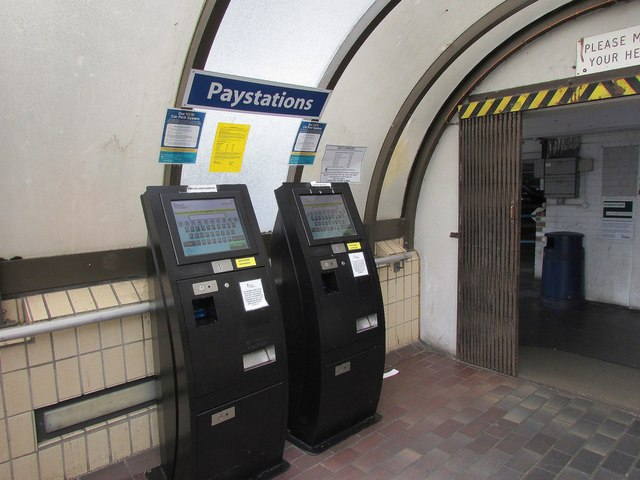 Paystations, Lower Union Lane Car Park, Torquay