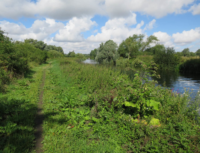 Bridleway by the Great Ouse