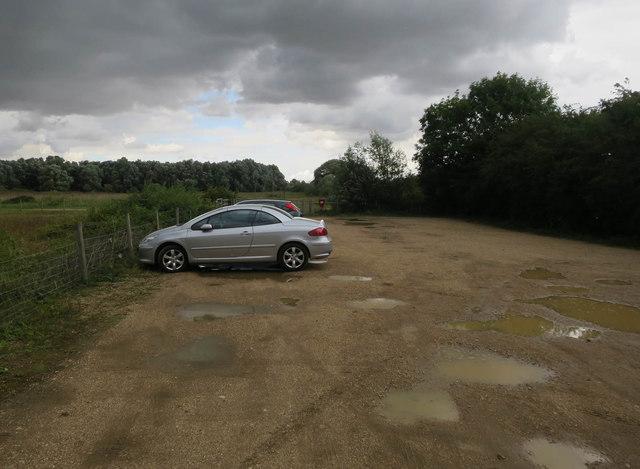 Fen Drayton Lakes RSPB car park