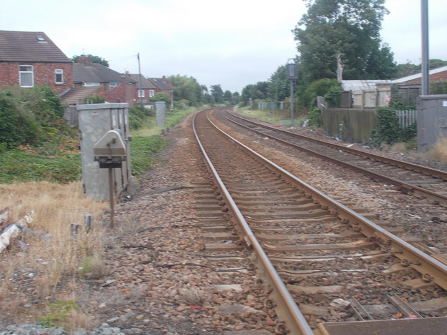 View from Level Crossing - Redcar Lane