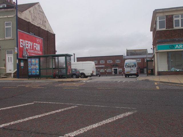 Former Bus Station - viewed from High Street