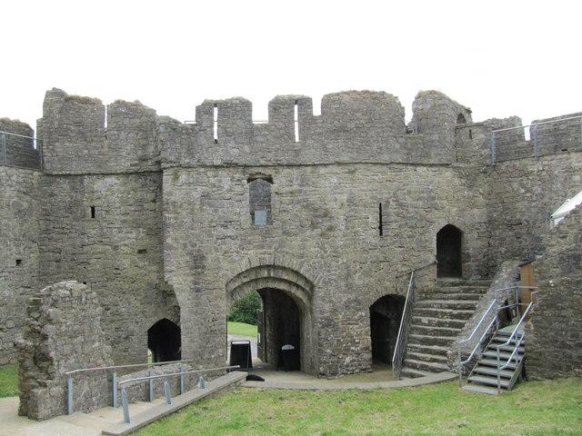Oystermouth Castle Gatehouse