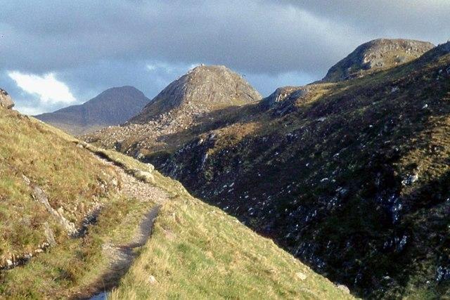 Track through the Abhainn a'Garbh-Choire