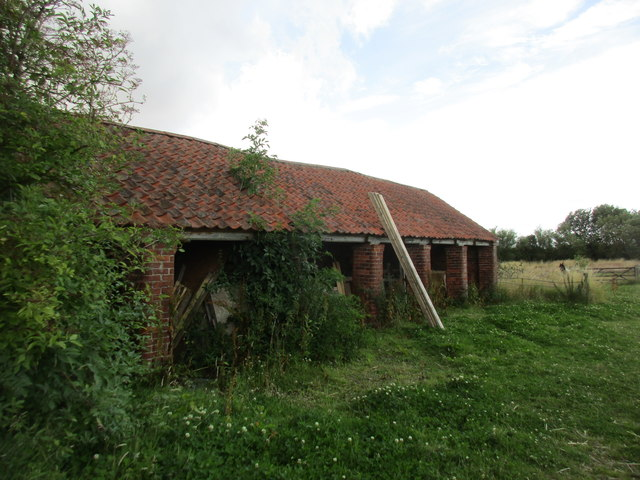 Cart shed at Poplar Farm, Garton