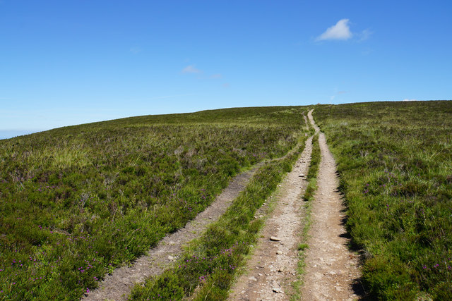 Path up to Dunkery Beacon