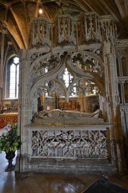Tewkesbury Abbey: The Wakeman Cenotaph 1