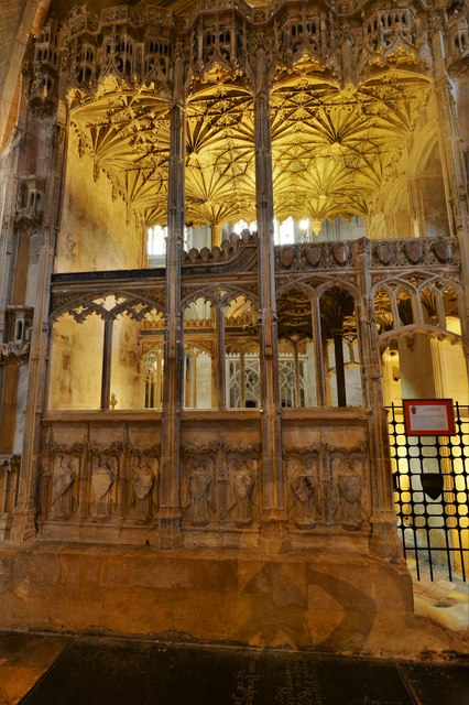 Tewkesbury Abbey: The Beauchamp Chantry erected ca. 1430 by Isabella, Countess of Warwick