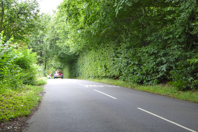 Road from Penn Bottom to A404