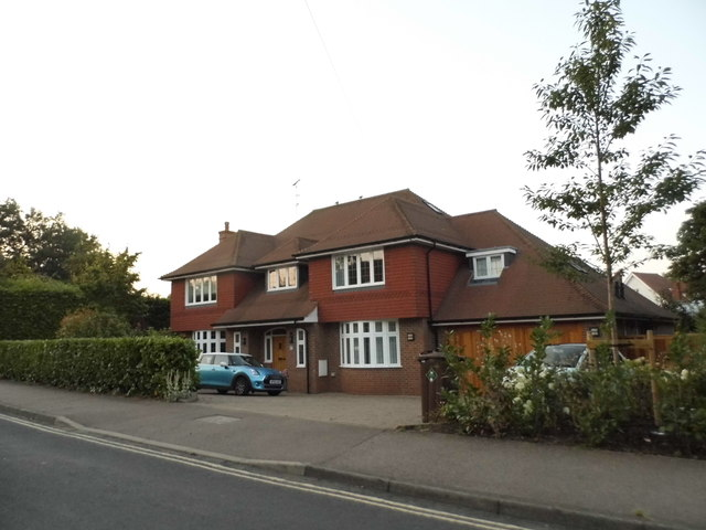 House on Rothamsted Avenue, Harpenden