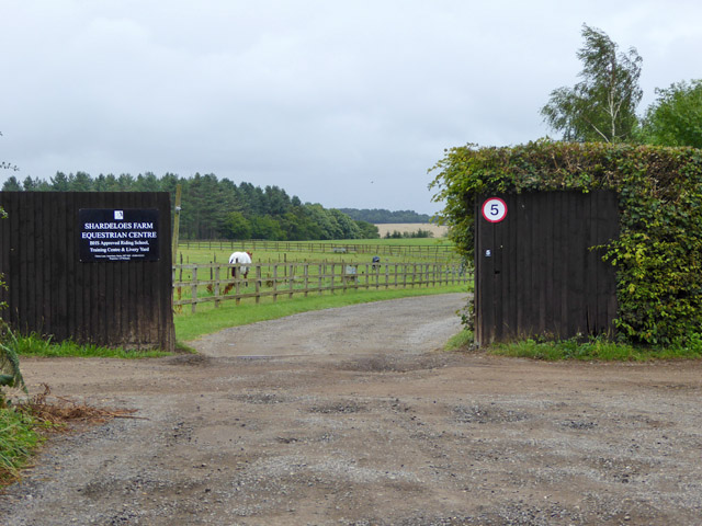 Entrance, Shardeloes Farm Equestrian Centre