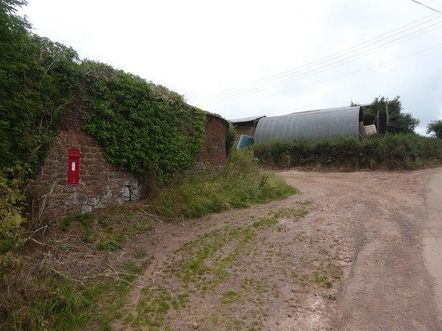 Farm buildings at Uton Barton