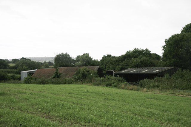 Barn near Crabbs Bluntshay Farm