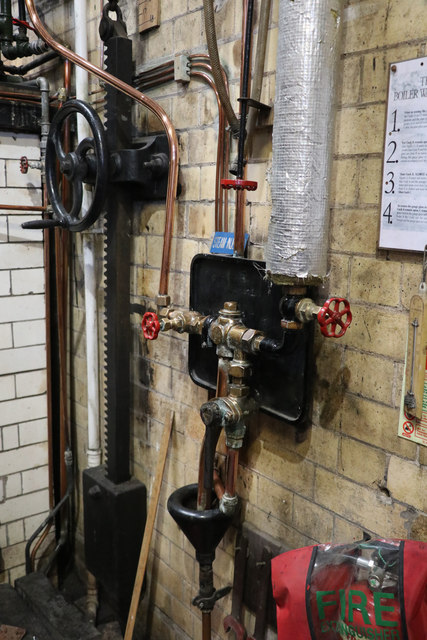 Coleham Head pumping Station - injector